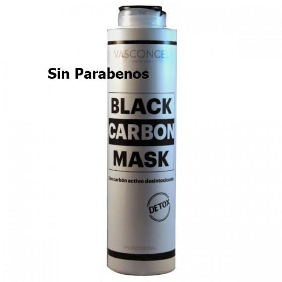 Mascarilla Capilar con Carbón Activo. Desintoxicante. 500 ml