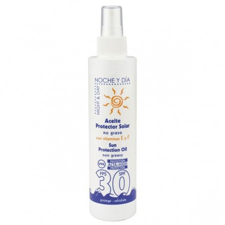 Aceite protector solar, tacto seco, FPS 30 200 ml