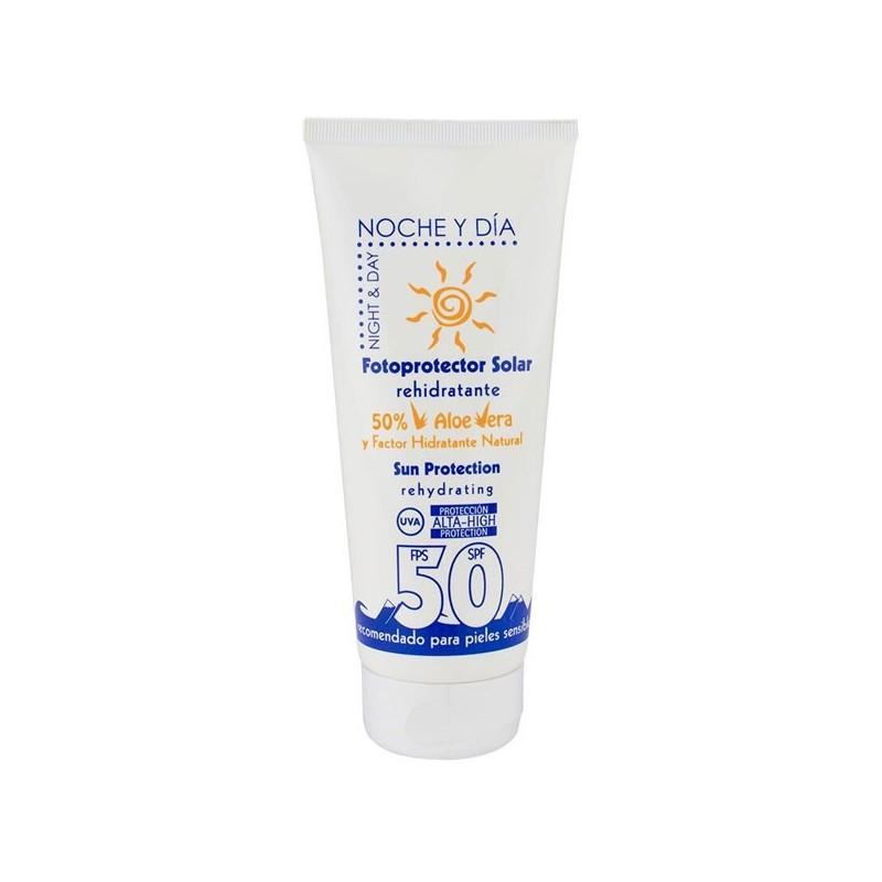 Protector Solar Rehidratante FPS 50, 200ml