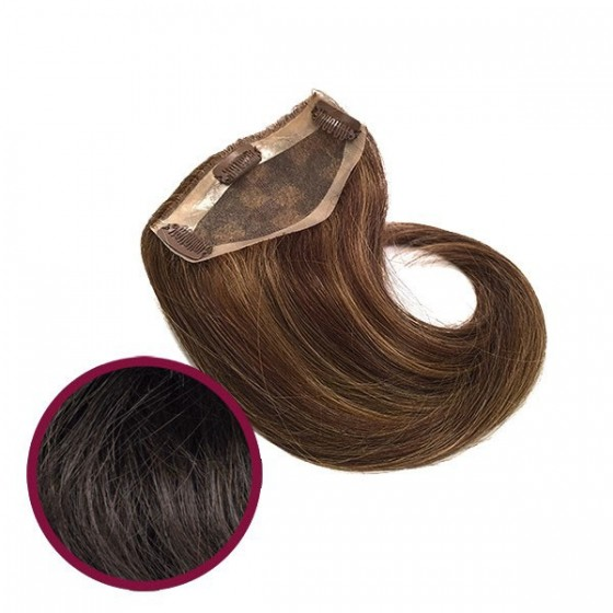 Top Hair, pieza natural con micropeinetas.