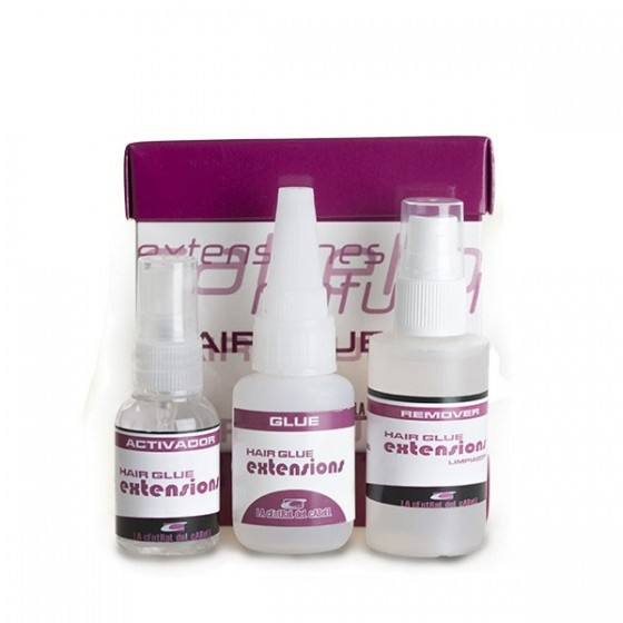 Kit Hair Glue Exteniones