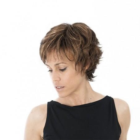 Peluca Fibra Monofilamento Frontal - Rita