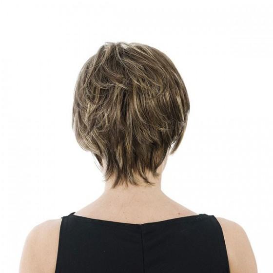 Peluca Fibra Monofilamento Frontal - Gemma