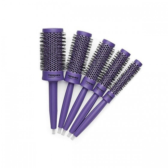 Pack 5 Cepillos Termix C·Ramic Color Purple
