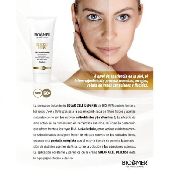 Protector Solar 100% Natural, Biomer 60 ml