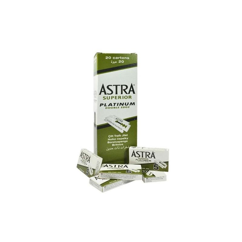 Hoja- Cuchilla Afeitar Astra Superior Platinum 100 Uds.