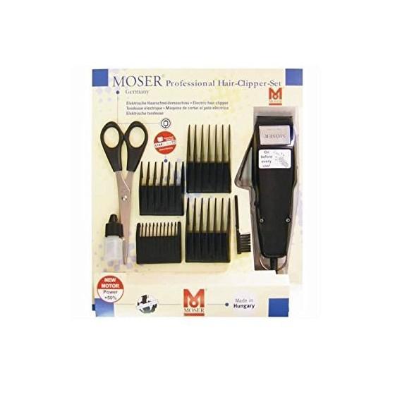 Moser Corta Pelo Profesional con cable Negra 1400