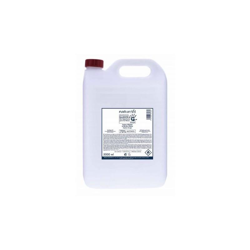 Gel hidroalcohólico con Aloe Vera y Glicerina 5000 ml