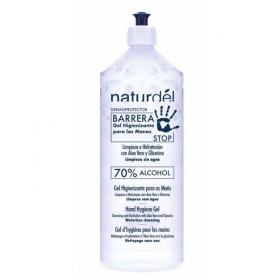 Gel hidroalcohólico con Aloe Vera y Glicerina 980 ml