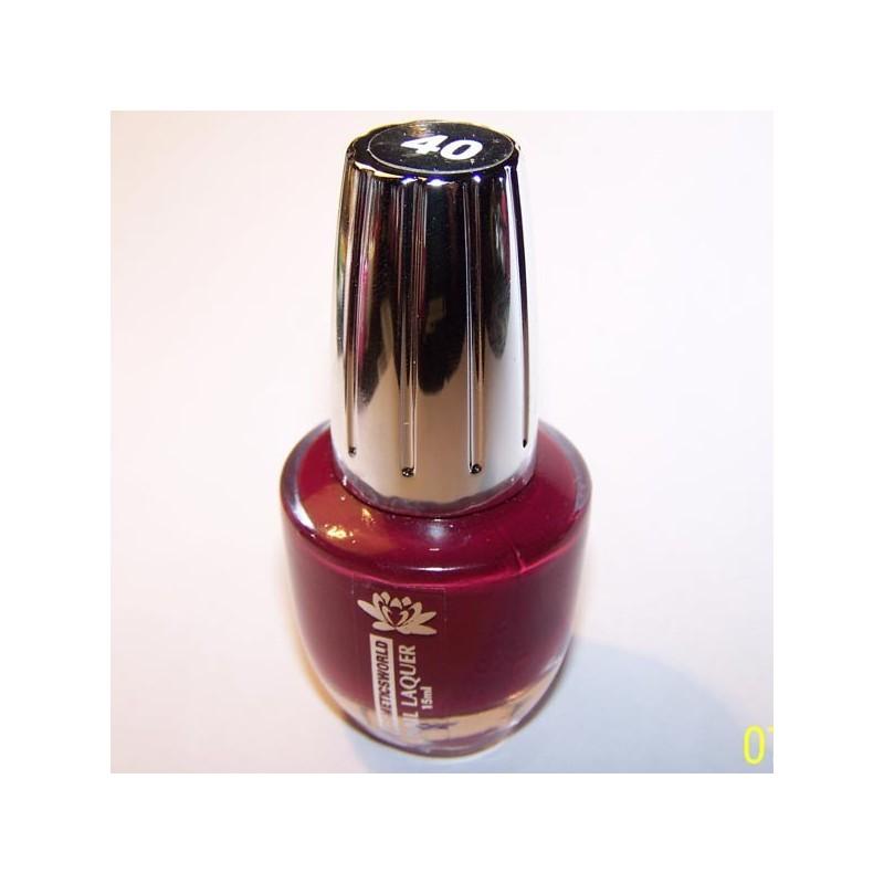 Esmalte 40 KosmeticsWorld, 15 ml
