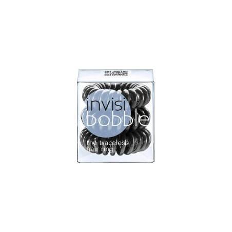 Invisibobble® Original True Black, Negro. 3 Uds.