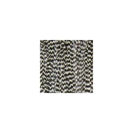 Extensión pluma. 3 Uds. Talla L. Blanco y negro