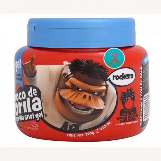 Moco de Gorila gel rockero