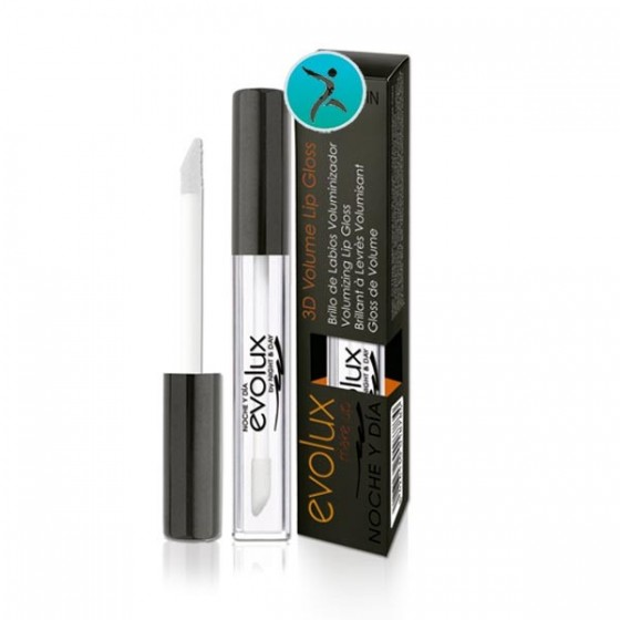 Brillo Labios Voluminizador. Lip gloss. Nº 1. Evolux. 9 ml