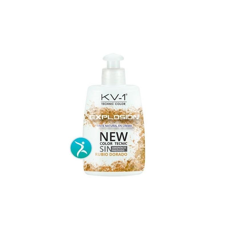 Tinte Eco Progresivo kv-1-Explosion. 7,3 - Rubio Dorado 150 ml