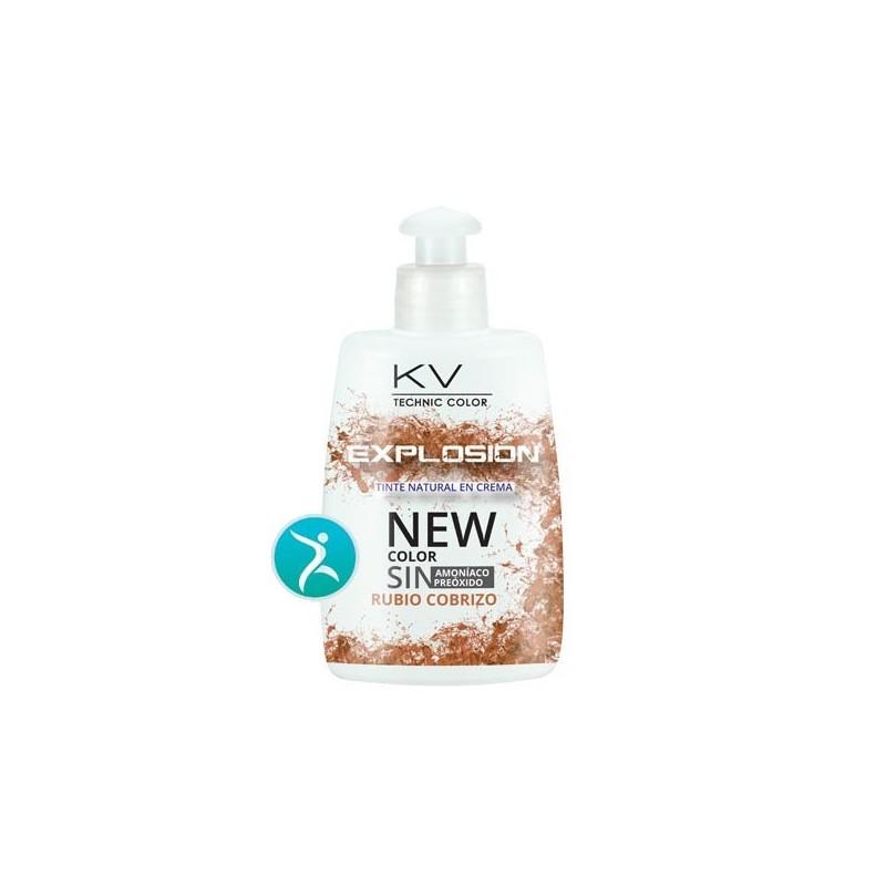 Tinte Eco Progresivo kv-1-Explosion. 7,55 Rubio Cobrizo 150 ml