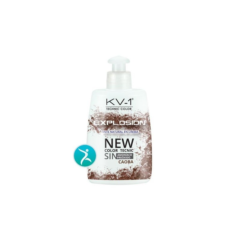 Tinte Eco Progresivo kv-1-Explosion. 4,5 - Caoba 150 ml